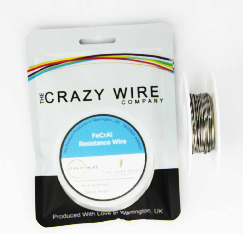 0.4mm KA1 26 AWG 11.97 ohms//m FeCrAl A1 Wire 50 Metre Spool