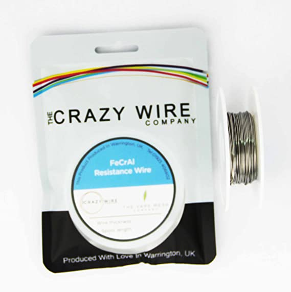 Kanthal A1 Type Resistance Wire - (24AWG) 0.5mm- 25 Metre Spool ...