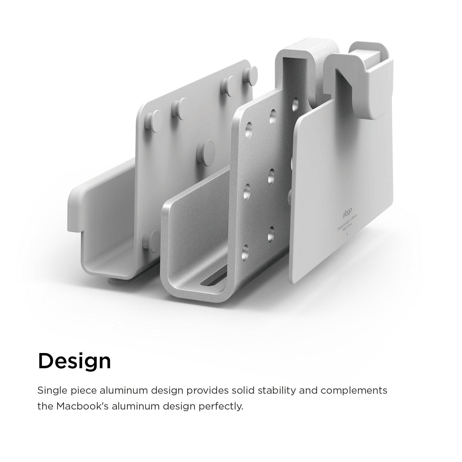 elago Pro Hanger for Mac - Laptop Shelf for iMac, Thunderbolt, and other Apple Displays by elago (Image #5)