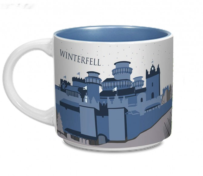 Game of Thrones Winterfell Mug | HBO Shop