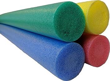 Natación flotadores de fideos Aqua Aerobics ayuda Tubo Natación Pack de cuatro: Amazon.es: Bricolaje y herramientas