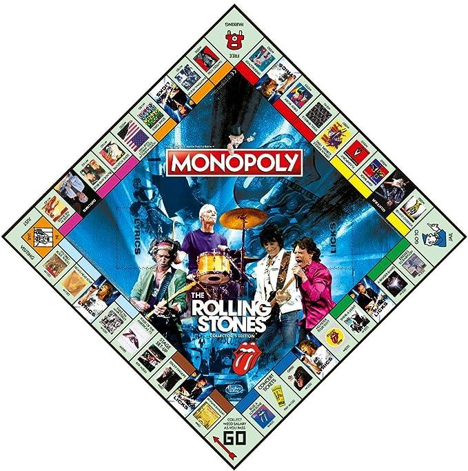 The Rolling Stones Monopoly: Edición de coleccionista: Amazon.es: Juguetes y juegos