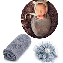 Photography Props Newborn Girl Newborn Wrap Newborn Tieback Newborn Headband Newborn Photography Newborn Photo Prop Newborn Girl