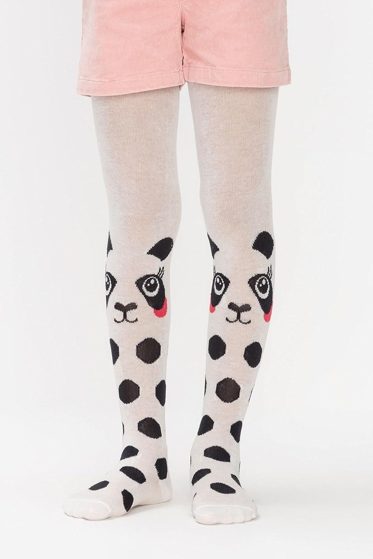 Panda Tricot Printed Luxury Fashion Kids Tights for Girls