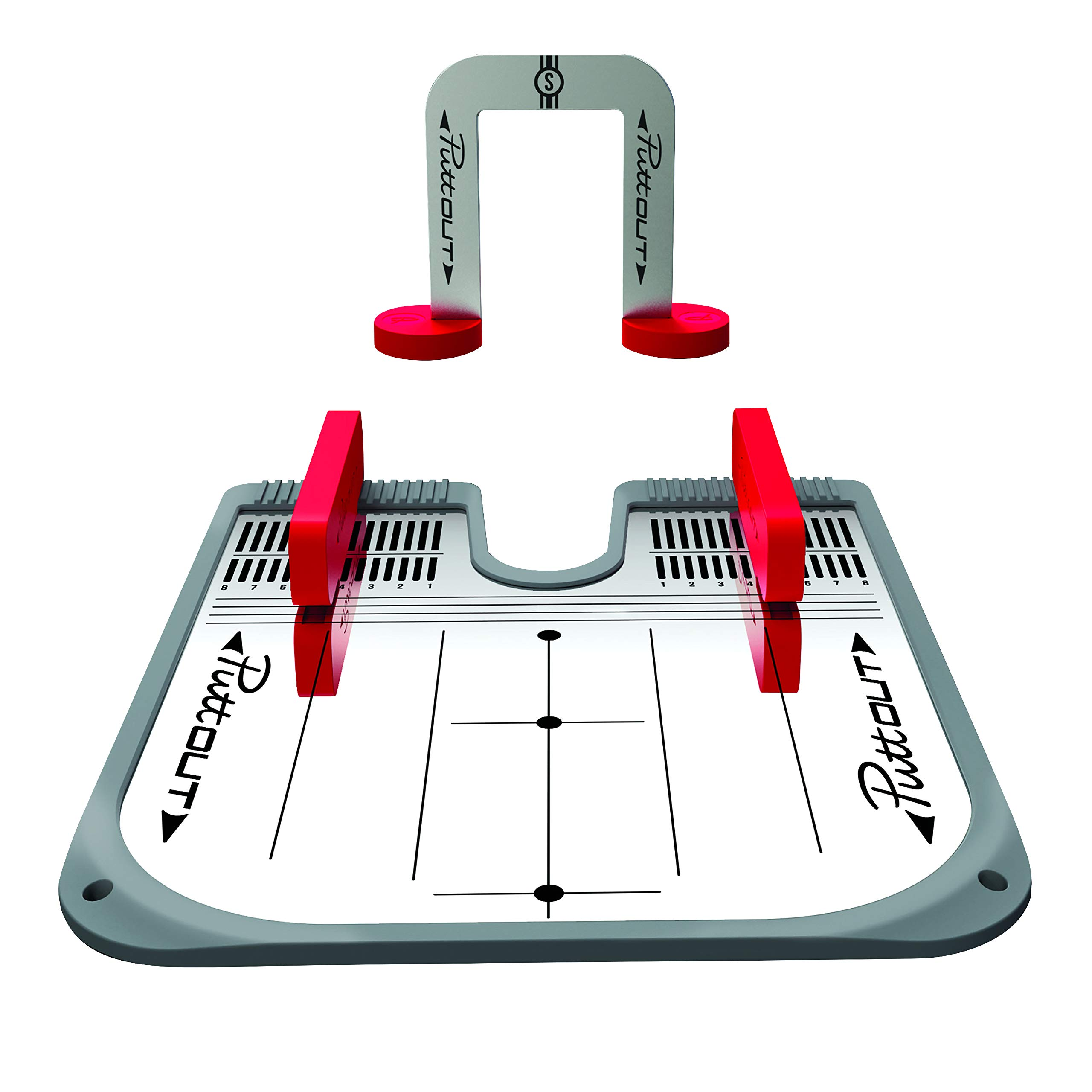 PuttOut Putting Mirror Trainer and Alignment Gate by PuttOut