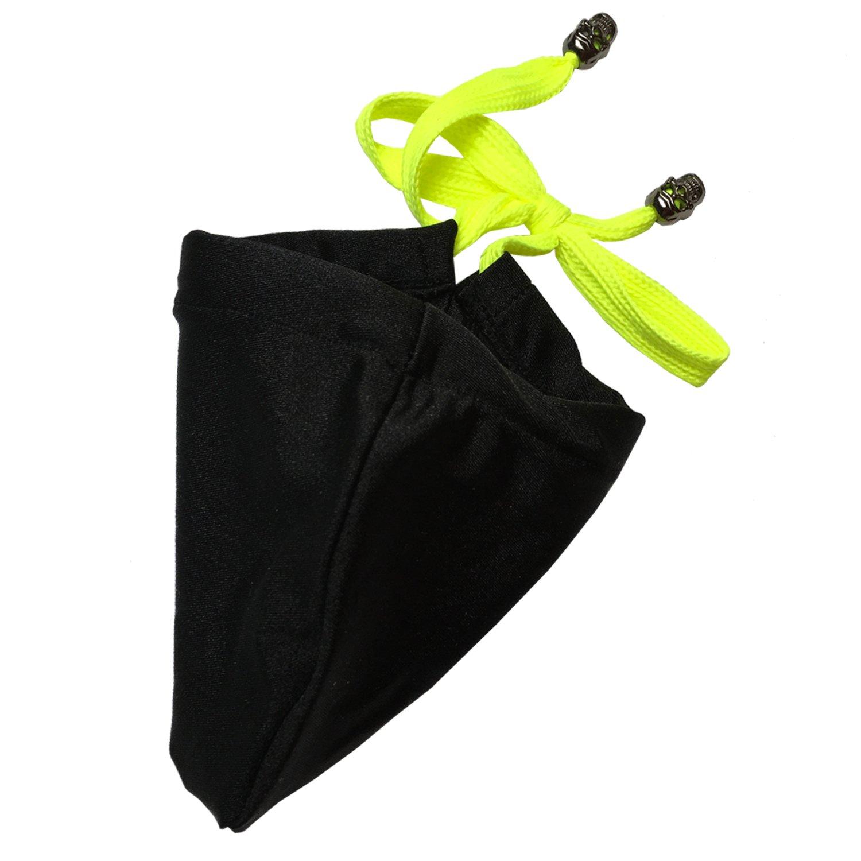 BILLSTYLE Men's Sexy Tanning Pouch Sun Protection Strapless Bikini T-back Swimwear Underwear (Black)