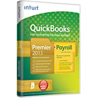 QuickBooks Premier 2013 + Payroll: RTI Ready - 1 Year Subscription, 1 User (PC)