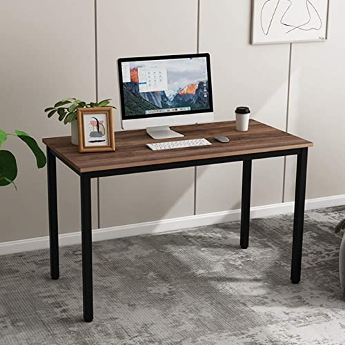 SDHYL 47 inches Contemporary Computer Desk Spacious Workstation Sturdy Writing Desk Meeting Desk