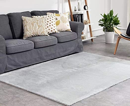 ATTA Creations Luxury Faux Fur Sheepskin Lambskin Rug Area Rug 5'x7'