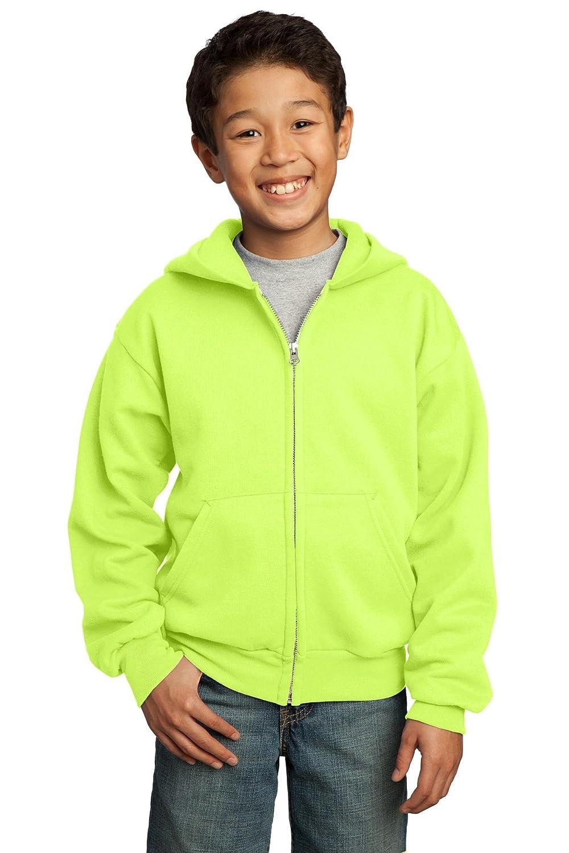 Port & Company Boys' Full Zip Hooded Sweatshirt