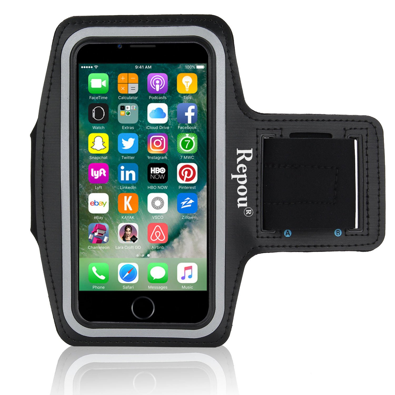 Repou Brazalete Deportivo para iPhone 7 Plus Armband para Correr ...