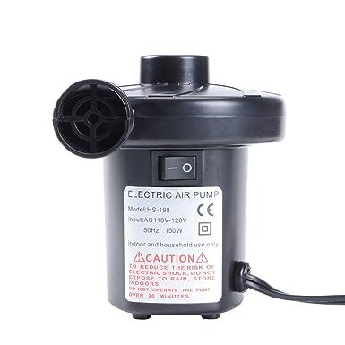 Amazon.com: Bomba de aire eléctrica, packgout inflador ...