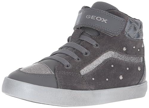 Geox B Kiwi Girl B, Botines de Senderismo para Bebés, Gris (DK Grey C9002), 27 EU: Amazon.es: Zapatos y complementos