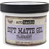 Art Basics Soft Matte Gel, 8.5-Ounce, Transparent