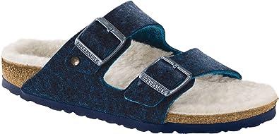db882a69e3c72a Birkenstock Arizona Happy Lamb Women s Sandal 36 N EU Blue