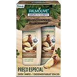 Kit Palmolive Natureza Secreta Castanha Promo 1 Shampoo 325ml + 1 Condicionador 325ml c/ Desconto