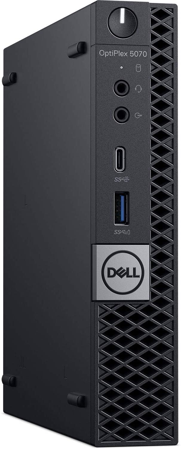 Dell OptiPlex 5070 Desktop Computer - Intel Core i5-9500T - 8GB RAM - 256GB SSD - Micro PC