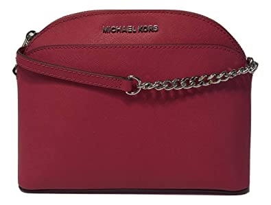 ce99d91933 Image Unavailable. Image not available for. Color  MICHAEL Michael Kors  Emmy MD Crossbody Ultra Pink