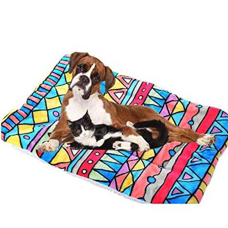 Amazon.com : ZZmeet Pet Dog Cat Bed Dog Cat Rest Blanket ...