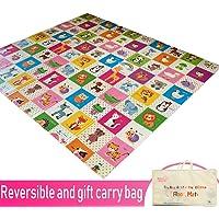 Infant Shining Baby Play mat, Playmat, Baby mat (200cm x 180cm) Extra Large Thick Foam Folding Crawling playmats…