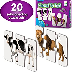The Learning Journey: Match It! - Head to Tail - Self-Correcting Color Name Matching Puzzle