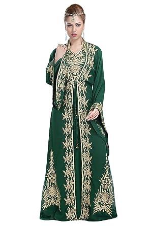 Maxim Creation New Designer Wear Khaleeji Thobe Caftan for Saudi Arabian  Women by 6059  Amazon.co.uk  Clothing ec952f056