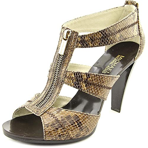 d27709c4a46 Michael Kors Berkley Floral T-Strap Dress Heels  Buy Online at Low Prices  in India - Amazon.in