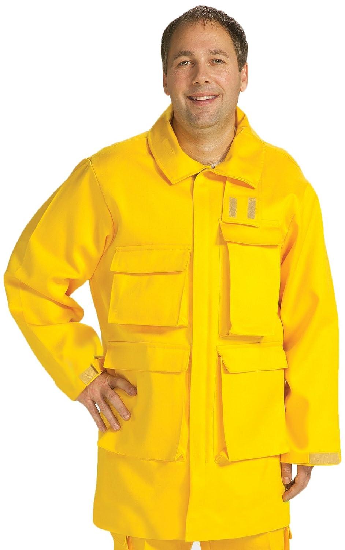 9.0 oz 34-36 Size TOPPS SAFETY JK12-3848-Reg//34-36 INDURA ULTRA SOFT Brush Gear Jacket Regular//Small Yellow