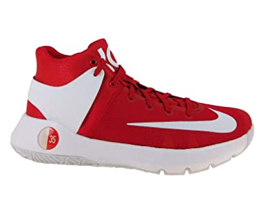 Nike Men's KD Trey 5 IV University Red/White Synthetic Running Shoes 11.5  ...