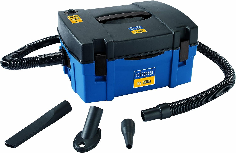 Scheppach 4906303901-9930 - Aspirador con función de soplado (230 V, 1,25 kW): Amazon.es: Bricolaje y herramientas