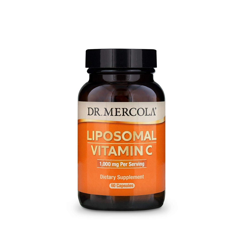 Liposomal Vitamin C 60 Caps by Dr. Mercola: Amazon.es: Salud y ...