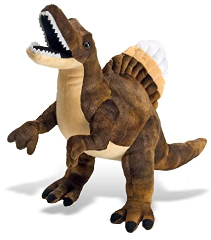 Wild Republic Spinosaurus Plush, Dinosaur Stuffed Animal, Plush Toy, Gifts for Kids,