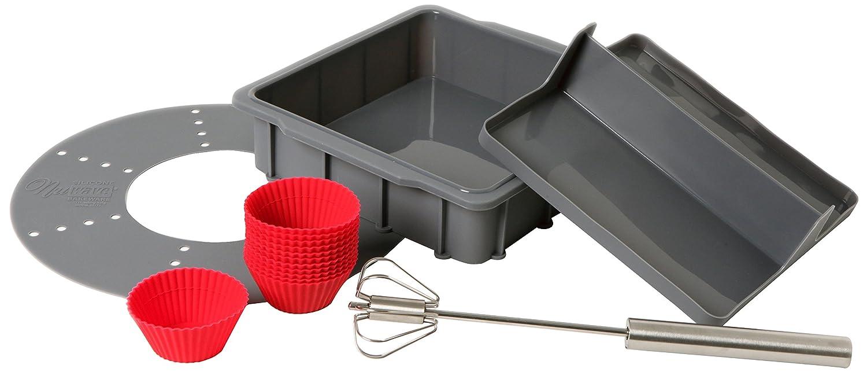 NuWave 22110 Silicone Baking kit, Grey
