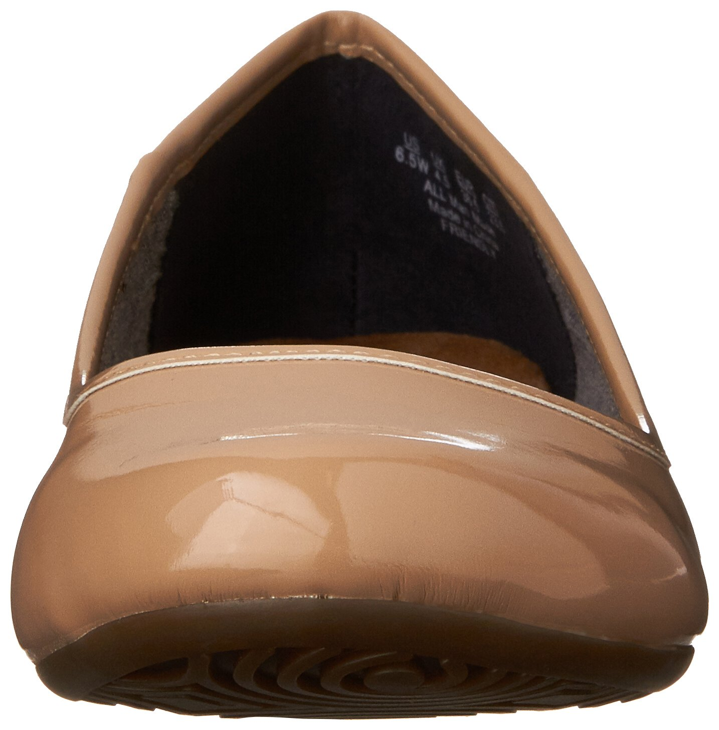 Dr. Scholl's Women's Friendly US|Sand Ballet Flat B00J09XH70 6.5 W US|Sand Friendly Patent 75239c