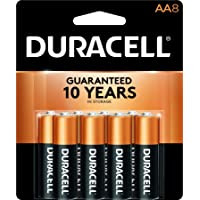 Deals on 8-Pack Duracell Coppertop AA Batteries, Alkaline DURMN1500B8Z