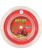 PROS PRO Red Devil Tennissaite - 200m Rolle - 1.24mm - Rot