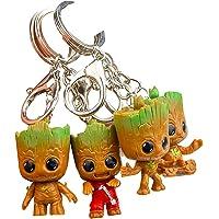 Baby Groot Llavero (Conjunto de 4) - Figura