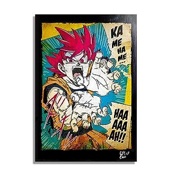 peinture sur toile manga