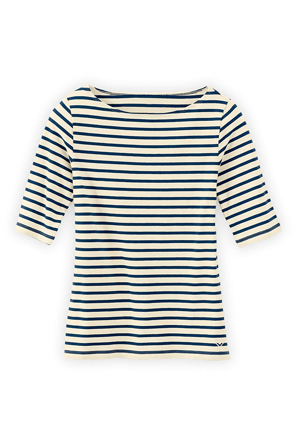 Fair Indigo Fair Trade Organic Boat Neck Tee by Fair Indigo