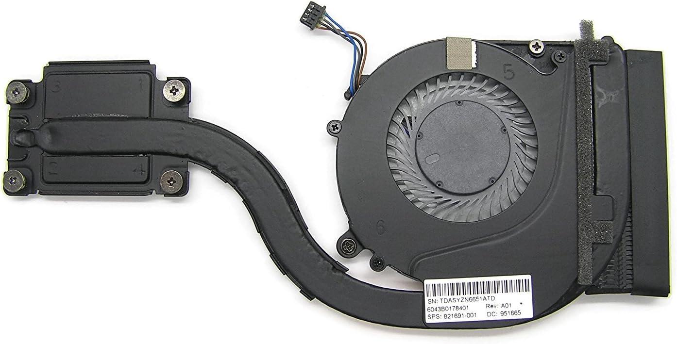 New Genuine Fan for HP EliteBook 820 G3 EliteBook 720 725 G3 Series Heatsink and Fan 821691-001