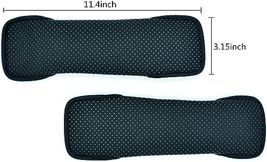 Wommty Komfort Weiche Baumwolle Schulterpolster Schultergurt Gurtpolster Sicherheitsgurt Gurtschoner Für Rucksack Auto