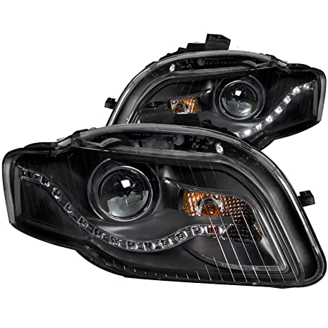 71ug%2BL0O3HL._SX466_ amazon com 2006 2008 audi a4 projector xenon type headlights 8