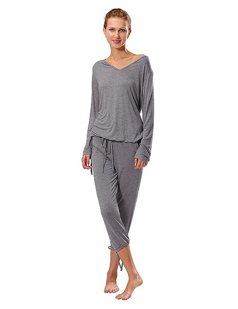 Raikou - Pijama - para mujer Graumelange 36/38