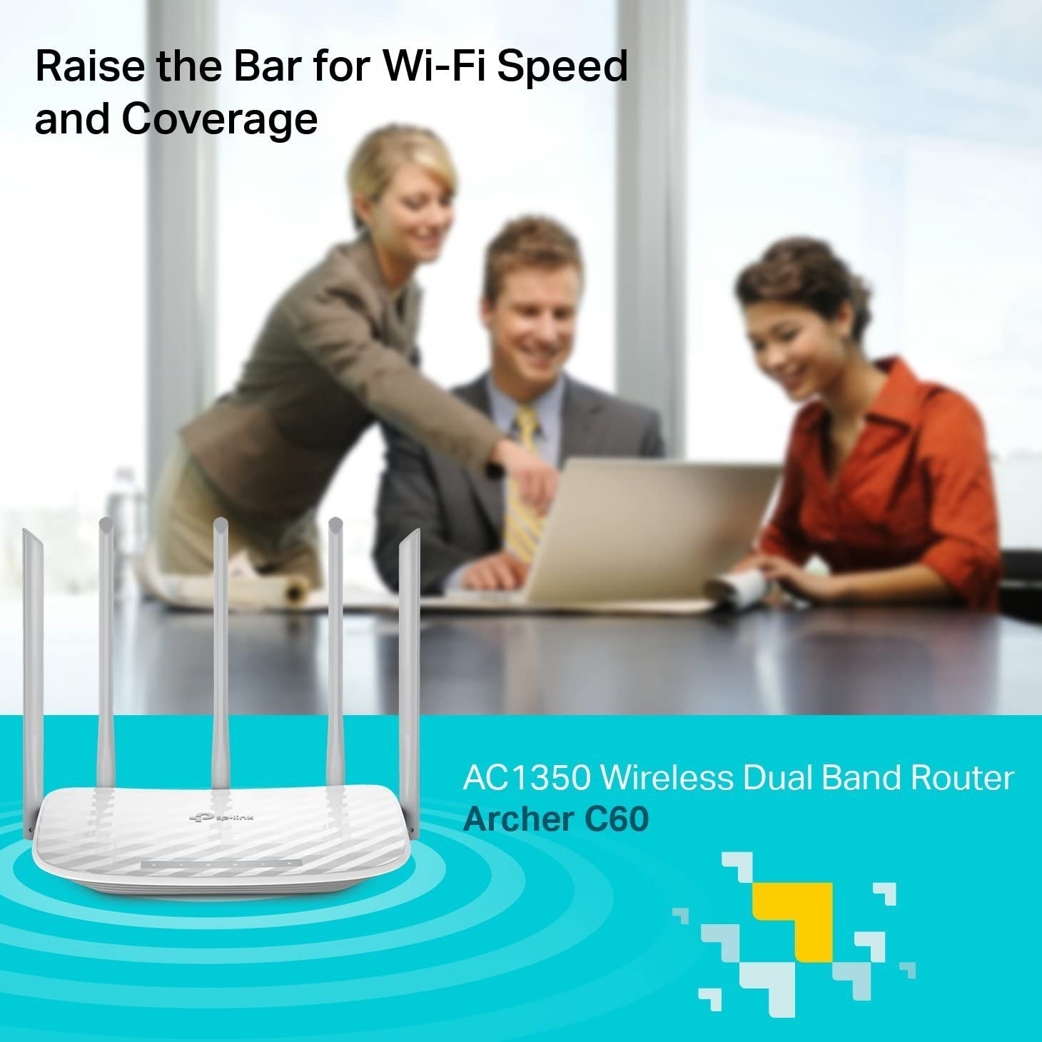 TP-Link AC1350 Wireless Wi-Fi Dual-Band Gigabit Router