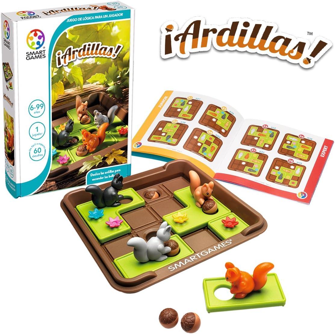 smart games- Ardillas (1): Amazon.es: Juguetes y juegos