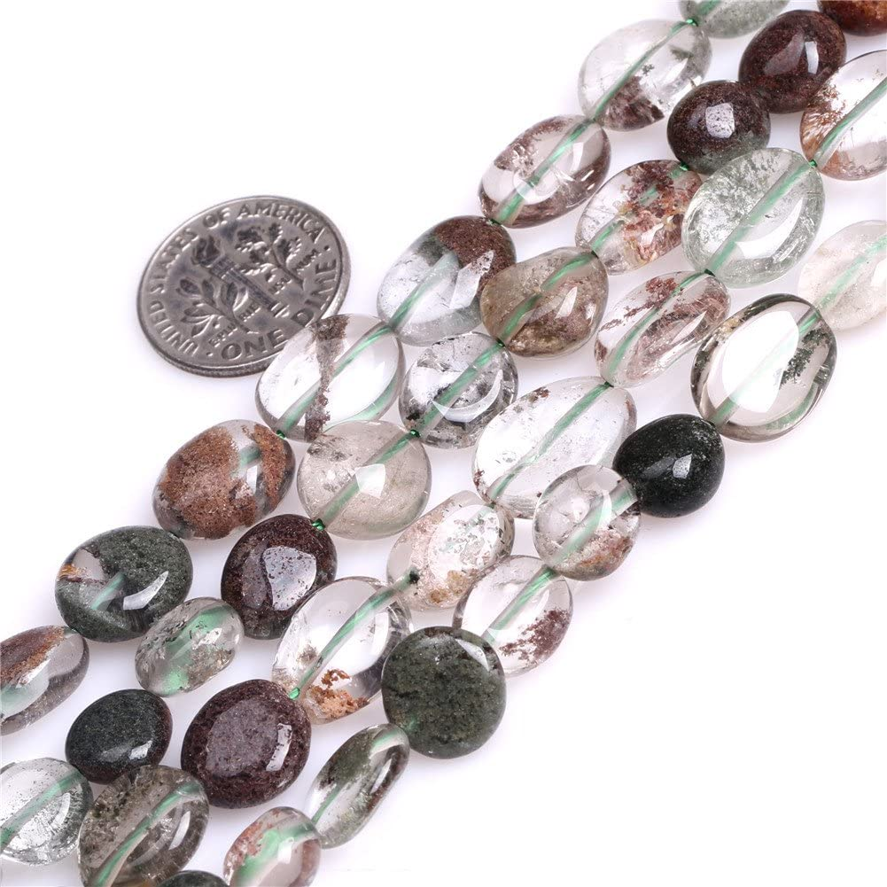 20 Crystal Glass 9x12mm Oval Beads Green
