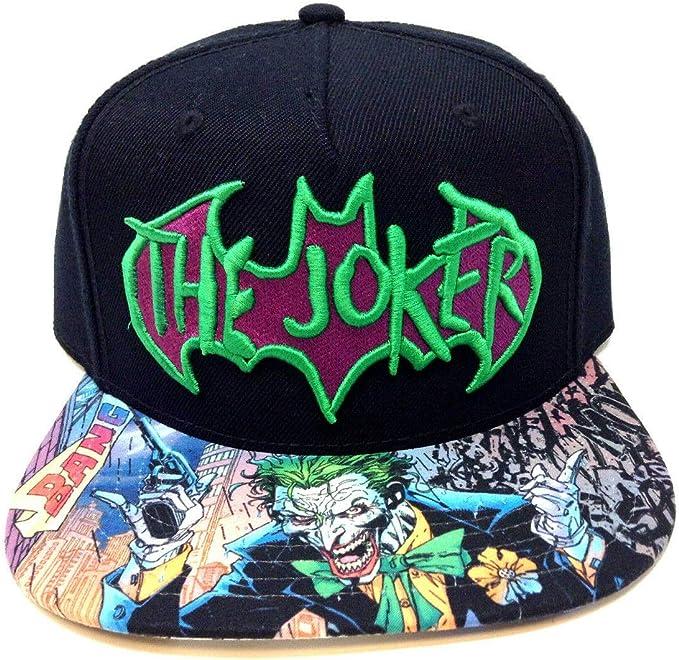 Batman Beanie,Joker Fictional Character Hat,DC Comics Embroidered Design