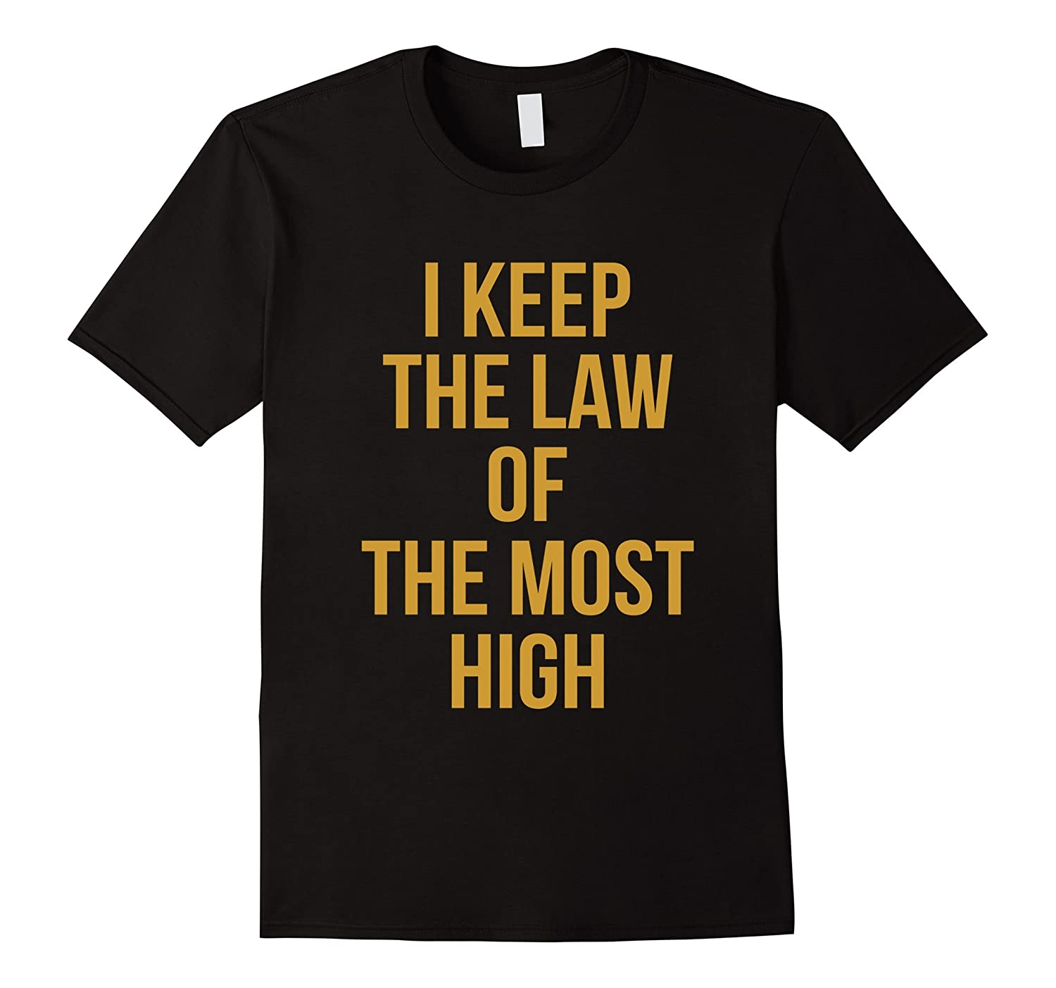 Gold Law OF Yah T-shirt Yahweh Yeshua Torah Hebrew Roots