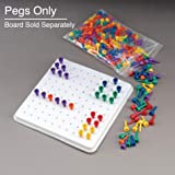 Sammons Preston Multi-Colored Beaded Pegs, 300