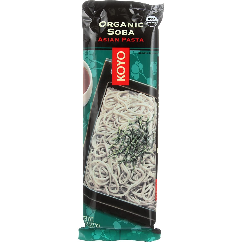 Koyo Foods Organic Soba, 8 Ounce -- 12 per case.